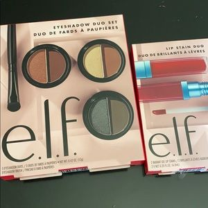 ELF EYESHADOW AND LIP STAIN SETS